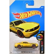 Hot Wheels, 2016 HW Mild to Wild, 2010 Ford Mustang GT [Yellow] #60/250