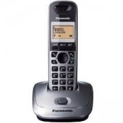 Безжичен DECT телефон Panasonic KX-TG 2511, Сребрист, 1015046