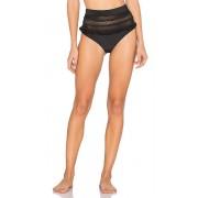 Tularosa Thessy Bikini Bottom in Black. - size XS (also in L,M,S,XL)