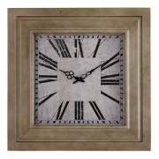 Oak Furnitureland Clocks - Charlton Wall Clock - Oak Furnitureland
