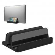 S09 Vertical Laptop Aluminum Bracket Base - Black