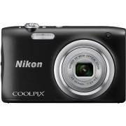 Digitalni foto-aparat Nikon A100, Crni SET(sa torbicom AM Smart Little PoKuOcM)