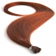 Poze Standard Magic Tip Extensions Light Copper Brown 7BK - 50cm