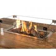 Glasombouw voor Happy Cocooning inbouwbrander (rechthoek) 69 x 32