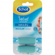 Scholl Velvet Smooth Refil Wet & Dry - 2 Stk