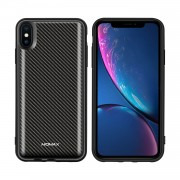 MOMAX Q.Power Pack Magnetic Wireless Battery Case 6000mAh for iPhone XS Max - Carbon Fiber Texture