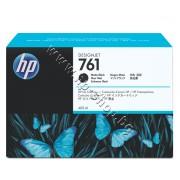 Мастило HP 761, Matte Black (400 ml), p/n CM991A - Оригинален HP консуматив - касета с мастило