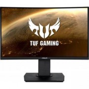 Монитор ASUS TUF GAMING VG24VQ Curved 23.6 инча, WLED VA FHD, 144Hz, Extreme Low Motion Blur, FreeSync, 1ms, Черен, ASUS-MON-TUF-VG24VQ