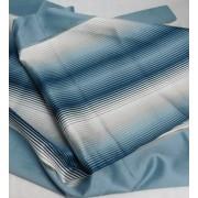 Kék csíkos dekor maradék 120x72cm/0016/Cikksz:1230693