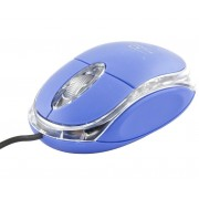 Mouse Esperanza Titanum TM102B cu fir optic USB albastru