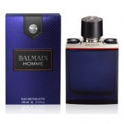 Balmain homme 100 ml eau de toilette edt spray profumo uomo