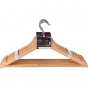 Geen Luxe houten kledinghangers 16 stuks