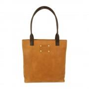 O My Bag Světle hnědá kožená kabelka O My Bag Posh Stacey midi