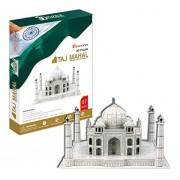 mQfit Taj Mahal 3D Puzzle Construction Model Kit with Instruction Book 87-Pieces