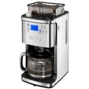 Cafetiera electrica cu rasnita Unold U28736, 1050W (Negru/Inox)