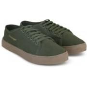 Slazenger CLASSIC DR Canvas Shoes For Men(Green)