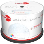 PRIM 2761207 - DVD-R 4.7GB/120Min, 50-er Cakebox