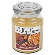 Lilly Lane Chocolate and Orange Scented Candle