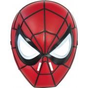 Vegaoo Mask i hård plast från Ultimate Spider-man för barn One-Size