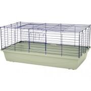 Cusca pentru iepuri si rozatoare Rabbit 100, albastru inchis - gri deschis