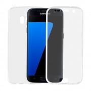 Husa Samsung Galaxy S7 Edge G935 Lemontti Silicon Full Cover 360 Transparent