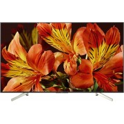 "Televizor LED Sony BRAVIA KD55XF8596, 139 cm (55""), Ultra HD 4K, Smart TV, X-Reality™ PRO 4K, Android TV, Clasa energetica A, Negru/Argintiu"