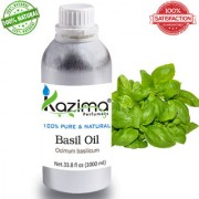Basil Tulsi Essential Oil (1000ML) Pure Natural For Skin Care & Hair Treatment