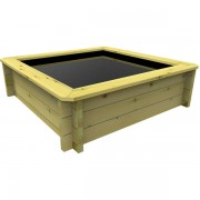 1m x 1m, 27mm Wooden Pond 697mm high