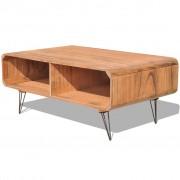 vidaXL Coffee Table 90x55.5x38.5 cm Wood Brown