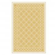 Floorart Tapis vinyle Palace moutarde - 133x200 cm