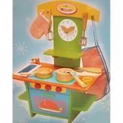 Cocina Madera Infantil - jugueterias