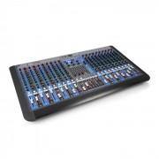 Power Dynamics PDM-S2004 Mesa de mezclas de 20 canales DSP/MP3, puerto USB, interfaz BT (Sky-172.628)