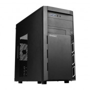 Carcasa PC , Antec , VSK 3000 Elite U3/U2 Micro ATX , negru