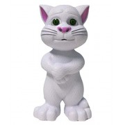 Greenfairs Intelligent Touching Tom Cat toy with wonderful voice Talk Back Mimicry Tom Cat toy Intelligent Talking Cat with Stories and Songs, Touch Functions perfect talking tom gift, toys for kids