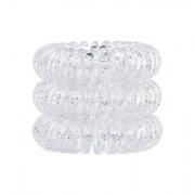 Invisibobble The Traceless Hair Ring Haargummi 3 St. Farbton Sparkling Clear für Frauen
