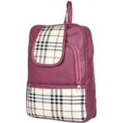 DE EULE Designer Leatherette Backpack Purse for Women, Fashion PU Shoulder Bag Handbags for College Office Shopping Bag Girls. 11 L Backpack(Maroon)