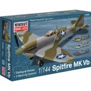 Minicraft 14704 - 1 144 Spitfire Vb USAAF/RAF with 3 marking options