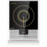 Philips HD4929 2100-Watt Induction Cooker (Black Induction Cooktop(Black, Touch Panel)