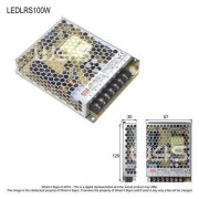 Meanwell LRS Indoor led driver ~ 3 Year