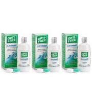OPTI-FREE PureMoist 3 x 300 ml med linsetuier