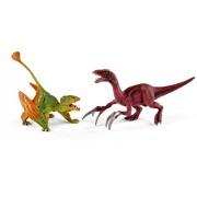Schleich North America Dimorphodon & Therizinosaurus Toy Figure, Small