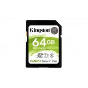 Kingston Canvas Select Plus - Flash-minneskort - 64 GB - Video