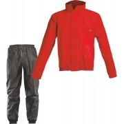 Acerbis Logo Traje de lluvia Negro Rojo 3XL