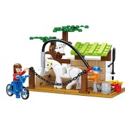"Sluban Horse Wash Area ""Town"" Building Kit (110 Pieces)"