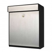 Stainless steel letterbox Grundform