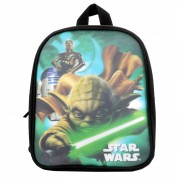 Ghiozdan gradinita Star Wars Disney, 27x22x6 cm, Multicolor