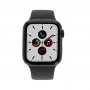 Apple Watch Series 5 Aluminiumgehäuse grau 44mm mit Sportarmband schwarz (GPS + Cellular) grau refurbished
