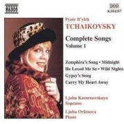 P.I. Tchaikovsky - Complete Songs Vol.1 (0636943435724) (1 CD)