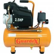 Compresora Aire Tanque Compresor Lubricado Motor 2.5 HP 25 L