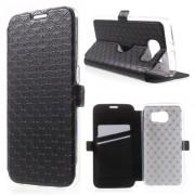 Кожен калъф за Samsung Galaxy S6 G920 - черен